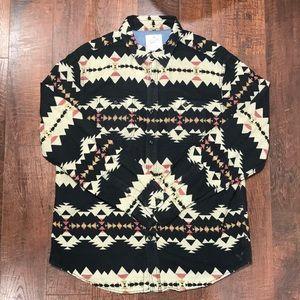 American Eagle Aztec Shirt